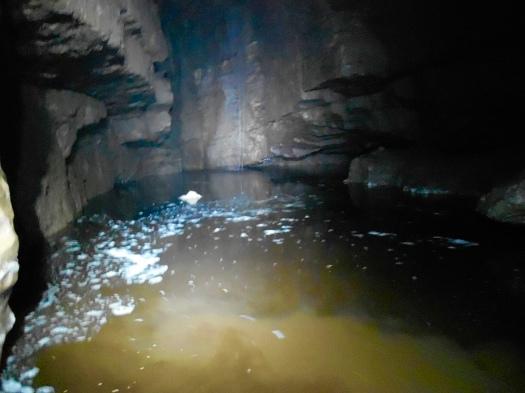Fossil Pot - Down Stream Sump